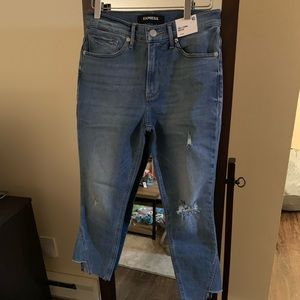 Brand new EXPRESS 4S ankle jeans.
